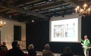 Higabs Svante Thun berättar om grundförstärkningen av Börsenkvarteret