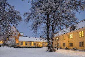 Kronhusen, parken, exterir,vinter