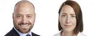 Higab-medarbetarena Martin Borgman och Jasmin Jansson Augustsson