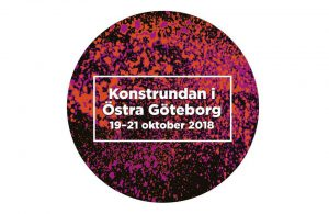 Konstrundan i Östra Göteborgs logga