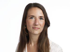 Higab-medarbetaren Amanda Lindström.