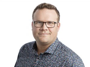 Porträttbild på Fredrik Andersson