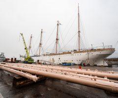 Pressmeddelande: Då lämnar Barken Viking Göteborg