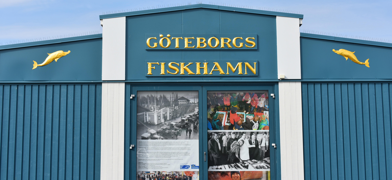Planket utanför Göteborgs fiskhamnen.