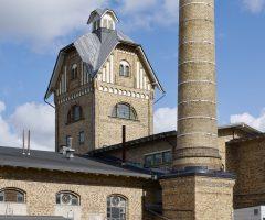 Torn och skorsten i Slakthuset.