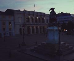 Götaplatsen och Gustaf Adolfs Torg släcks under Earth Hour