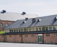Utsidan av Stallarna i Kviberg.