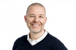 Porträttbild på Higab-medarbetaren Mikael Ahlgren.