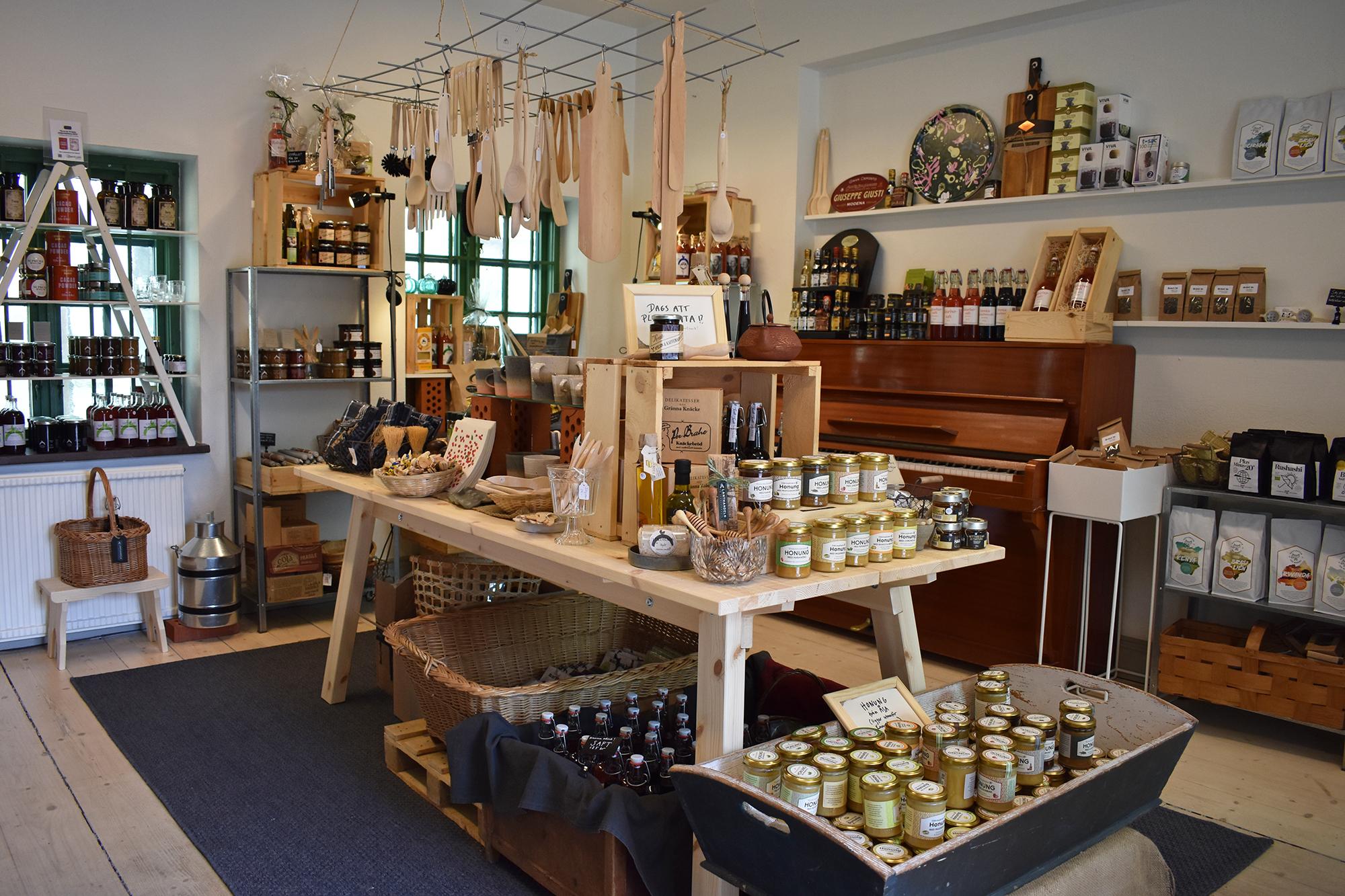 Matprodukter i lanthandel i Kronhusbodarna