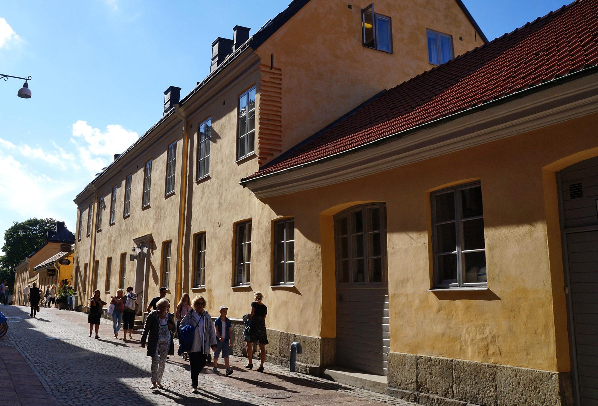 Postgatan med Kronhusbodarna