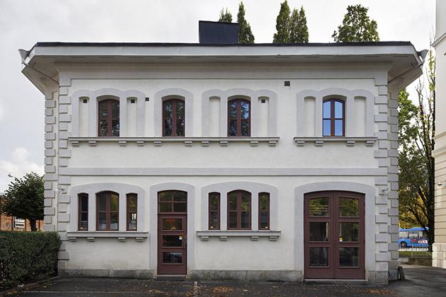 Exteriörbild av Dicksonska Palatsets annexbyggnad