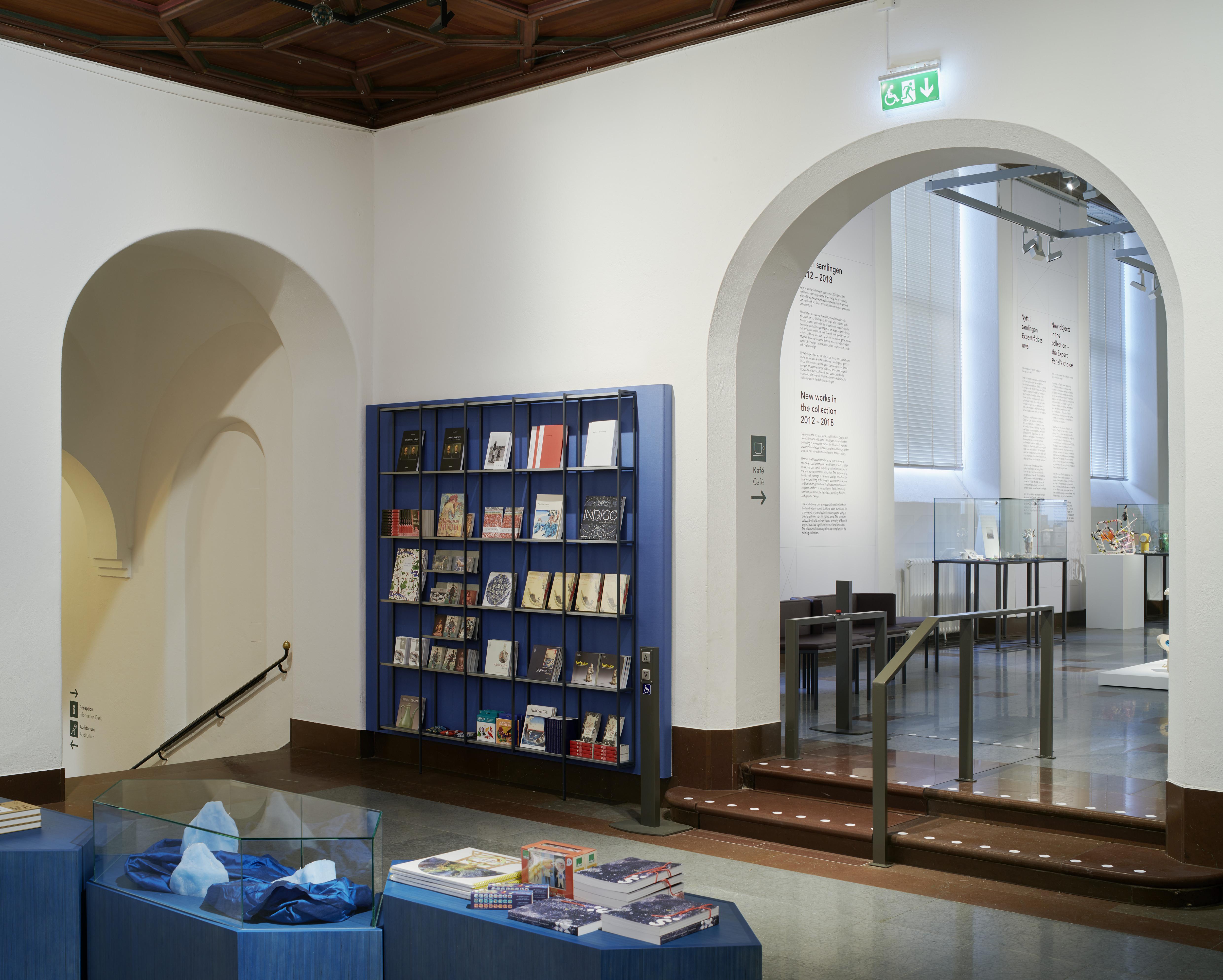 Röhsska museets foajé.