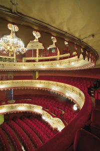 Utsikt över salongen på Stora Teatern
