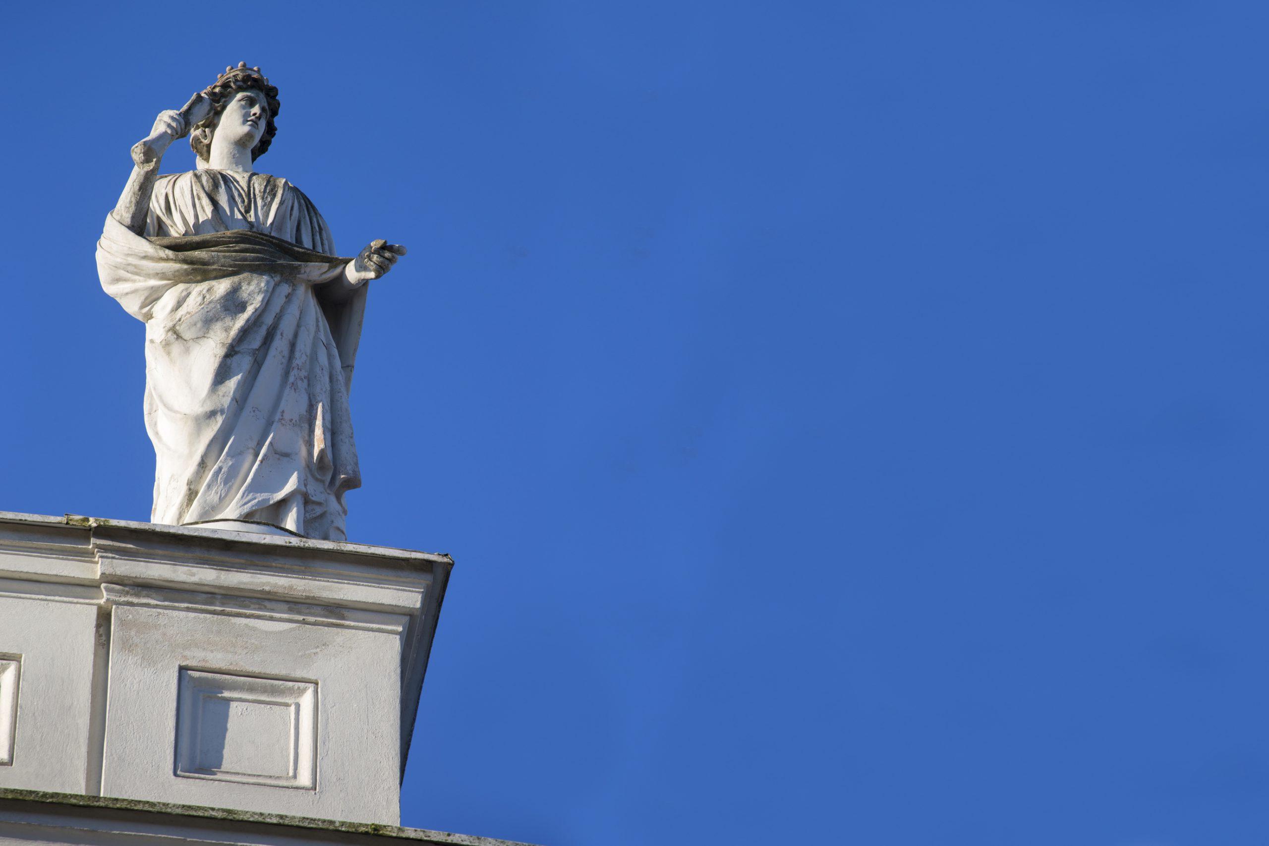 En takstaty inspirerad av den grekiska mytologin