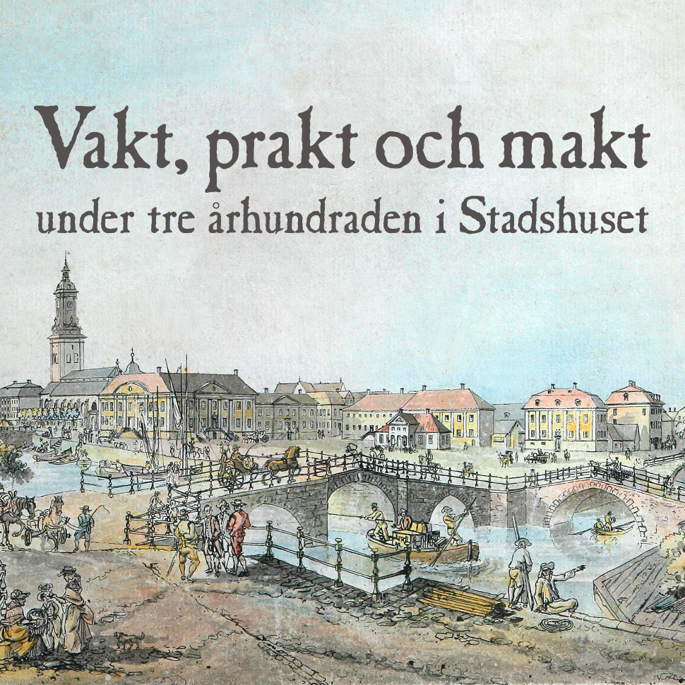 Marknadsföringsbild för utställning i Stadhuset