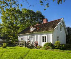 Utsidan av Vidkärrs Herrgård.