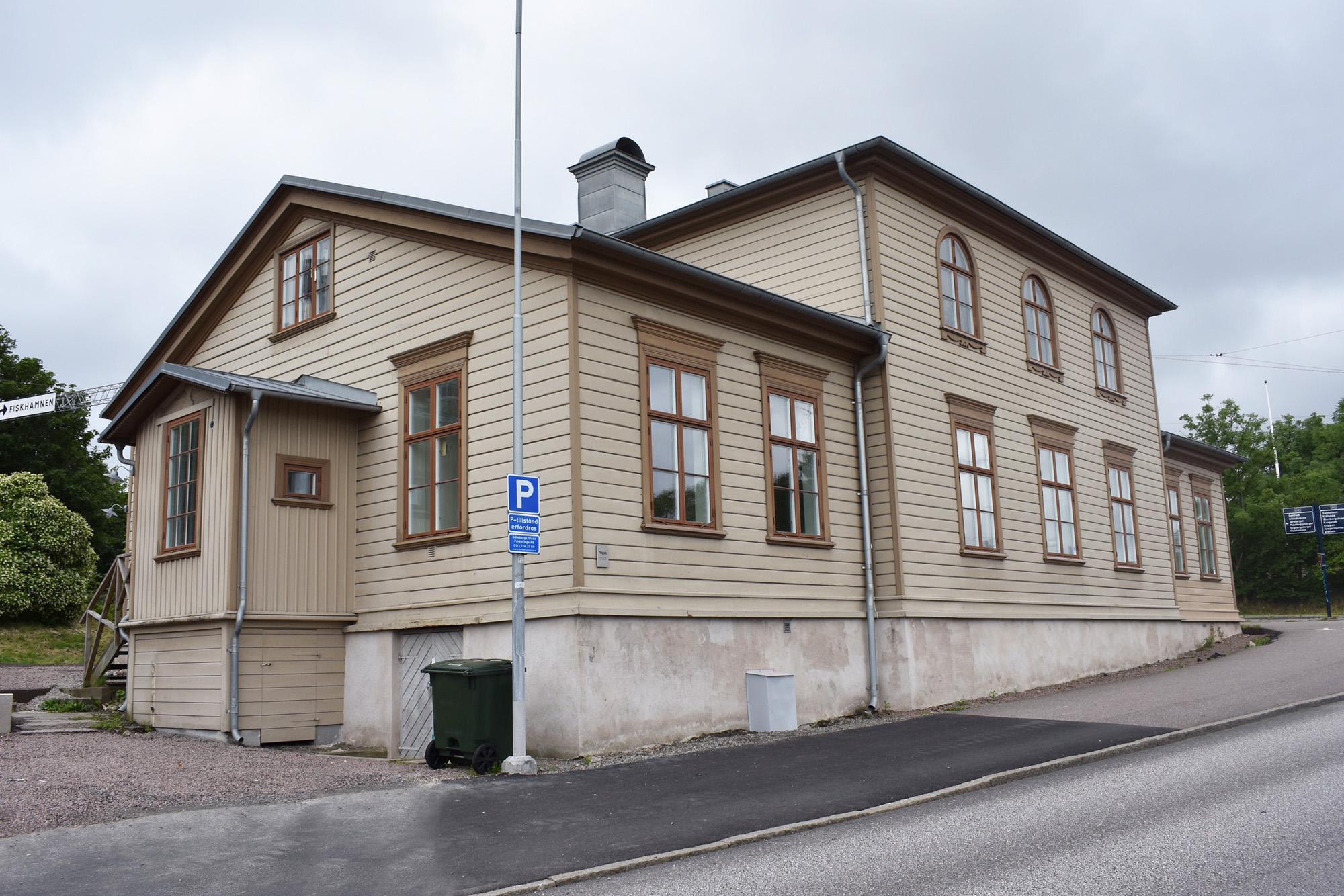 Utsidan av Villa Majviken