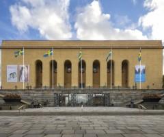 Framsidan av Göteborgs konstmuseum.