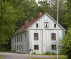 Grusväg utanför Skårs Gård.