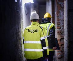 Higab skriver nytt ramavtal för byggprojekt