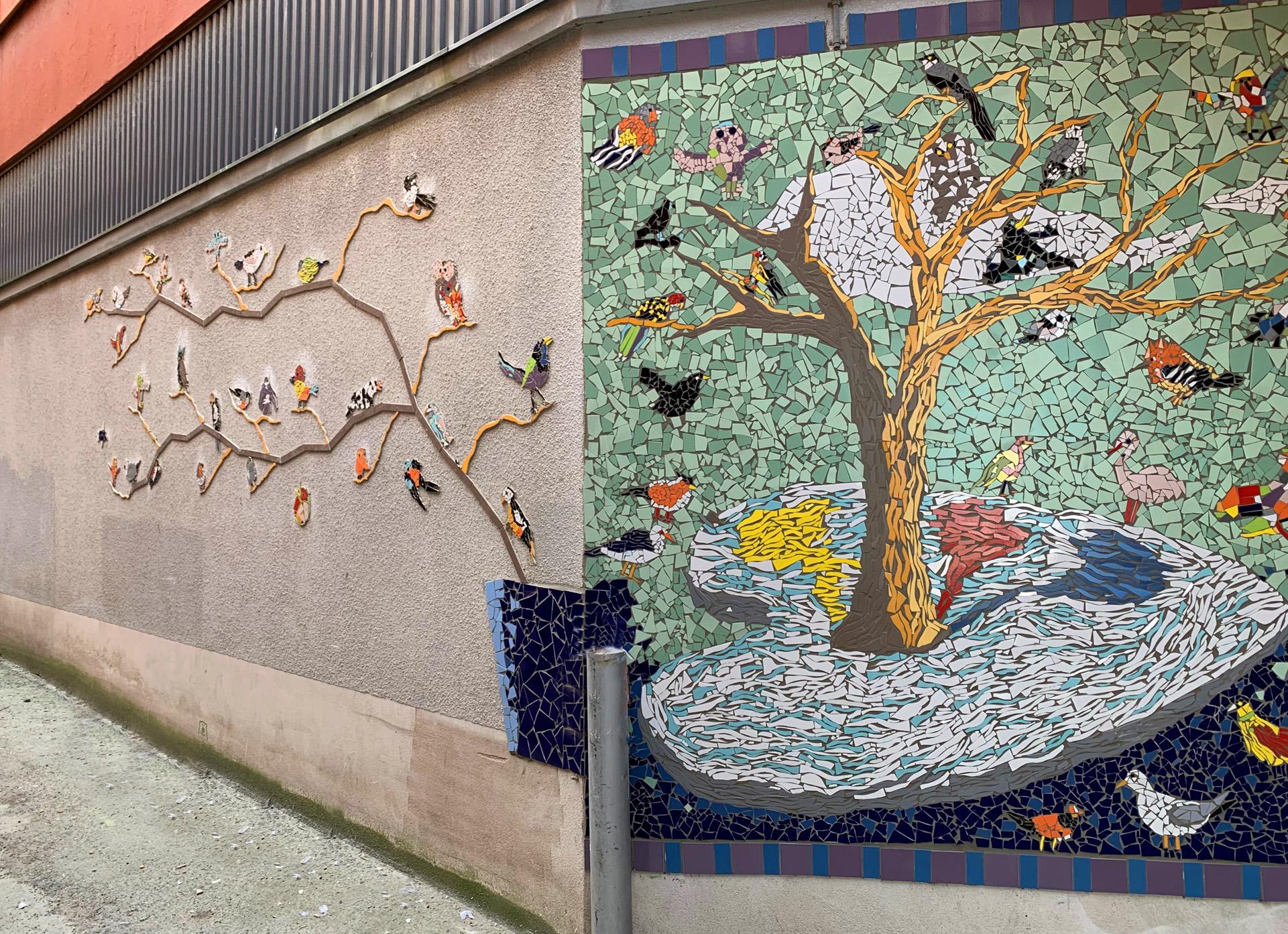 Konstverk i mosaik