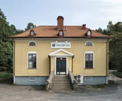 Utsidan av Lillhagens Skola.