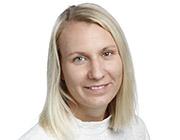 Higab-medarbetaren Madeleine Lindeberg.