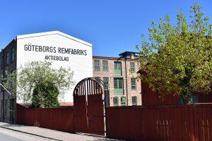 Utsidan av Remfabriken.