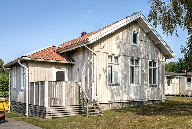 Utsidan av Rösereds Småskola