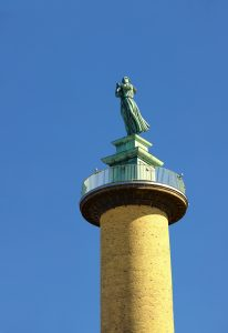 Staty längst upp i Sjömanstornet.