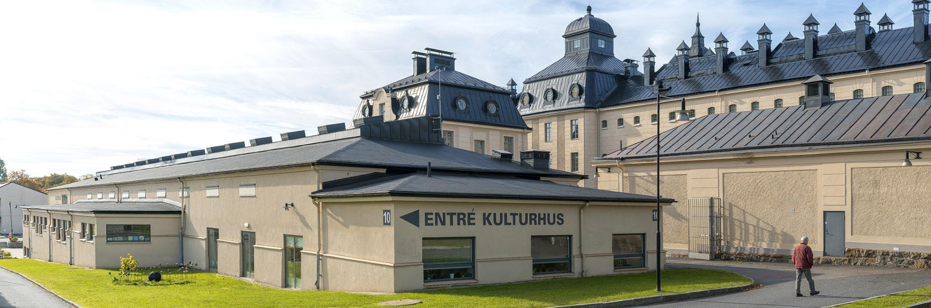 Tinnar och torn på Härlanda Park.